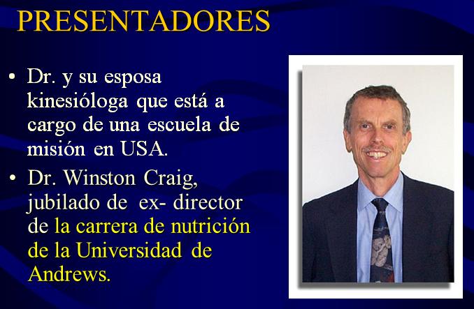 Presentadores 1 Curso medico misionero LIGHT en Argentina Buenos Aires Medicina integral natural Facundo Bitsch Dr. Craig