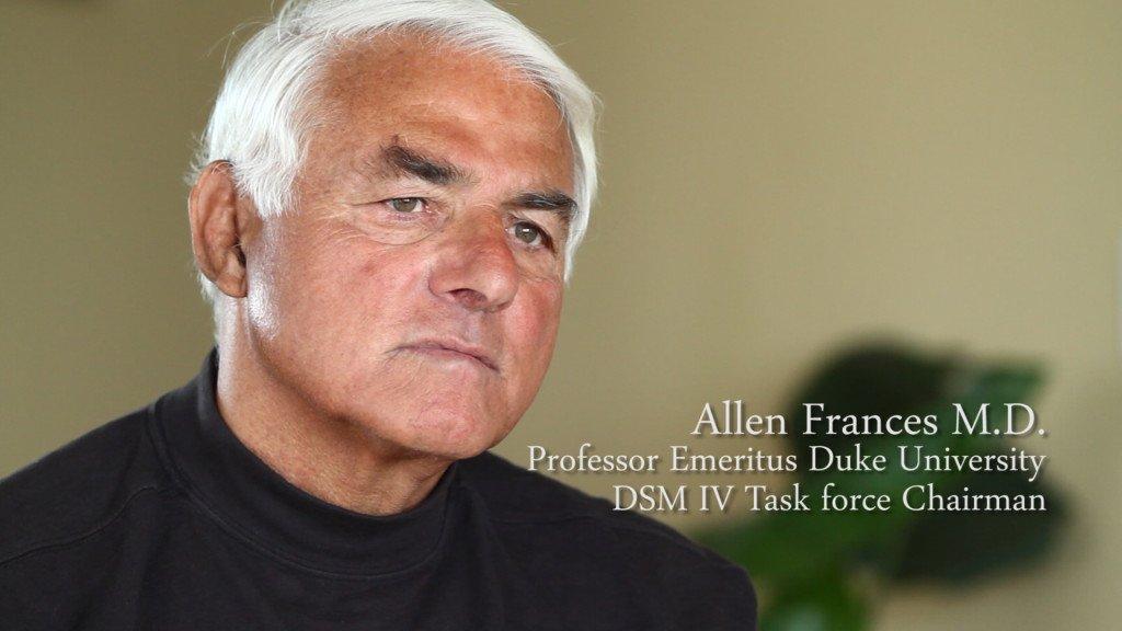 Allen Frances uso medicacion enfermedades mentales facundo bitsch medicina integral natural
