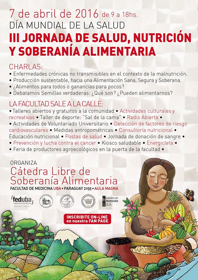 dia mundial de la salud 7 de abril catedra libre de soberania alimentaria facundo bitsch medicina integral natural