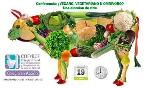 Conferencia sobre vegetarianismo